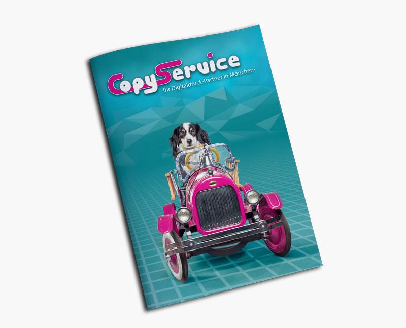 Broschüren, Magazine und Prospekte drucken im Copy Service Mönchengladbach