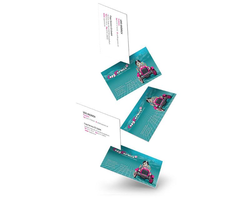 Drucken Visitenkarten Flyer Poster Copy Service Mönchengladbach