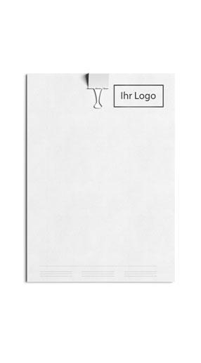 Briefpapier drucken im Copy Service