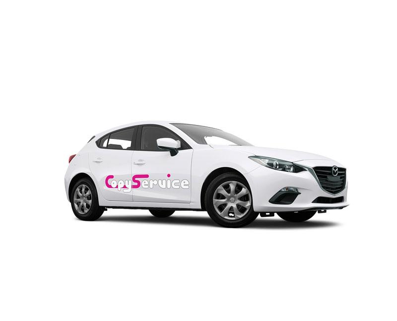 Foliencuts - Fahrzeugbeschriftung, Schaufensterbeschriftung