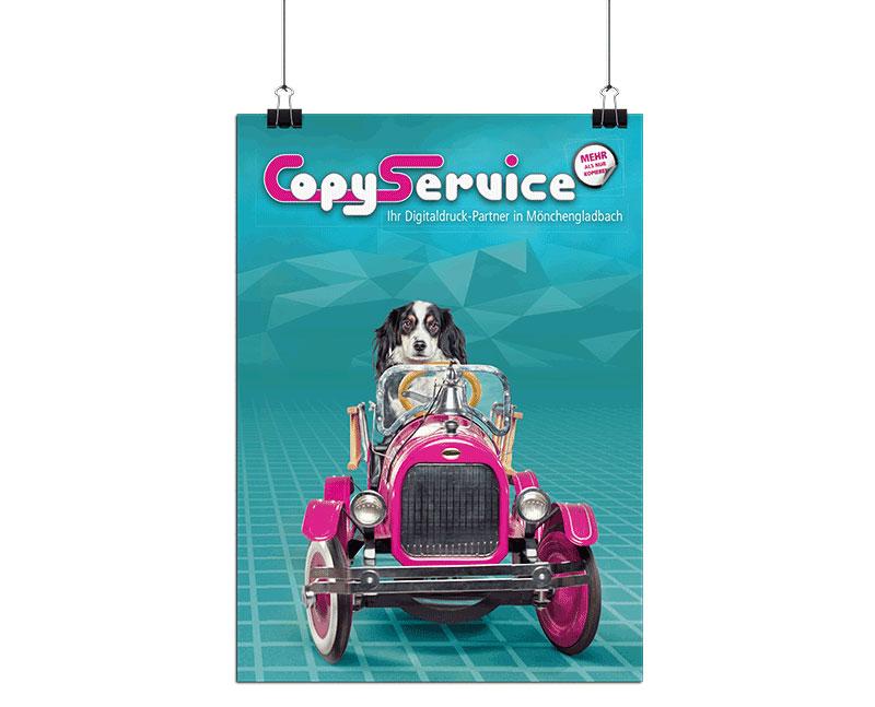 Poster und Plakate drucken im Copy Service