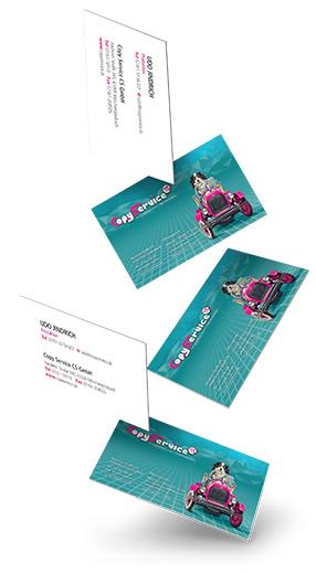 Visitenkarten drucken und gestalten in Mönchengladbach beim Copy Service